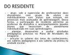 do residente1