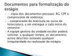 documentos para formaliza o do est gio1