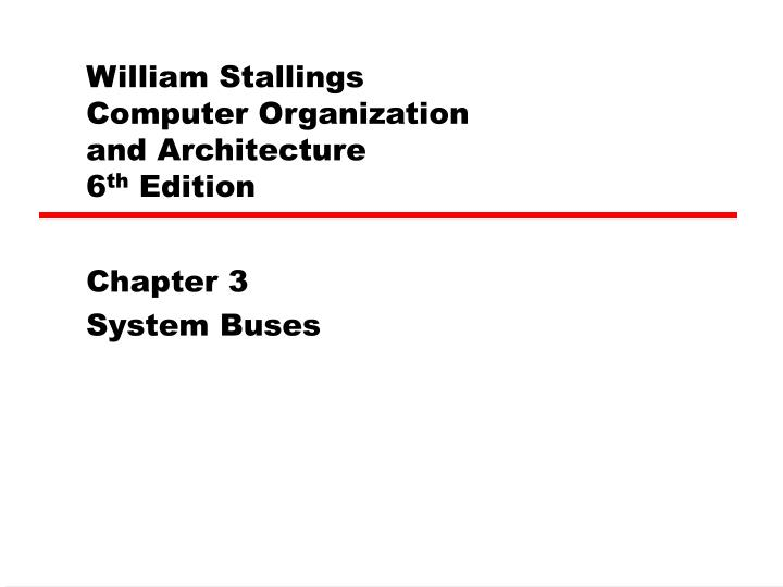 william stallings computer organization and architecture 6 th edition n.