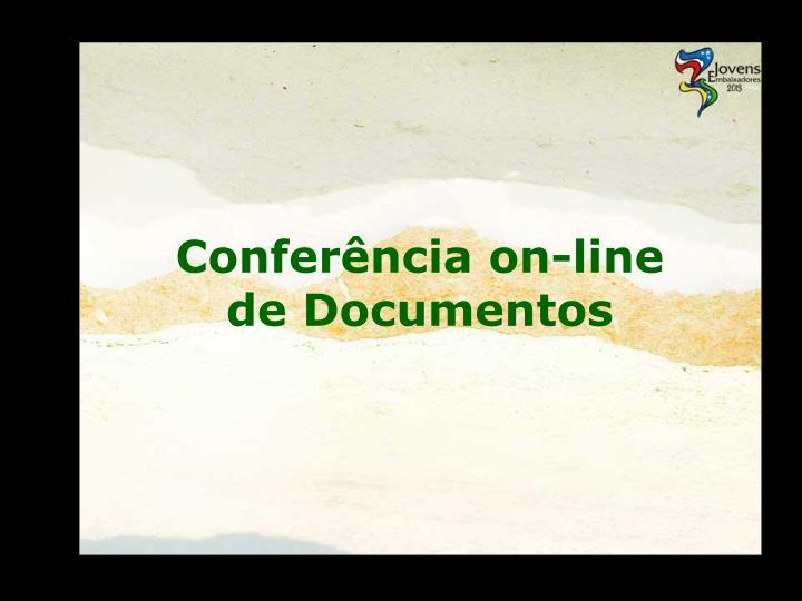 Conferência on-line