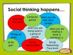 social thinking happens