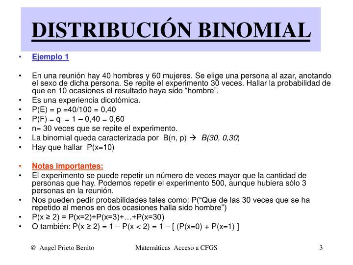 Distribuci n binomial2