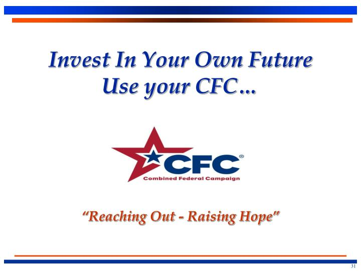 Invest In Your Own Future