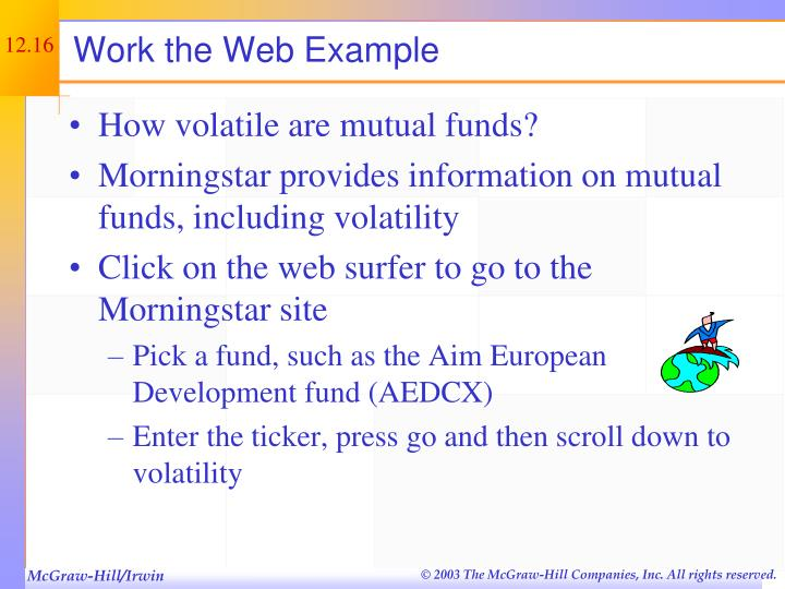 Work the Web Example