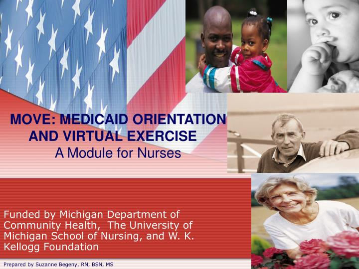 move medicaid orientation and virtual exercise a module for nurses n.