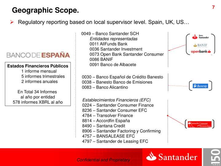 Ppt xbrl in santander group powerpoint presentation id for Oficina 0049 banco santander