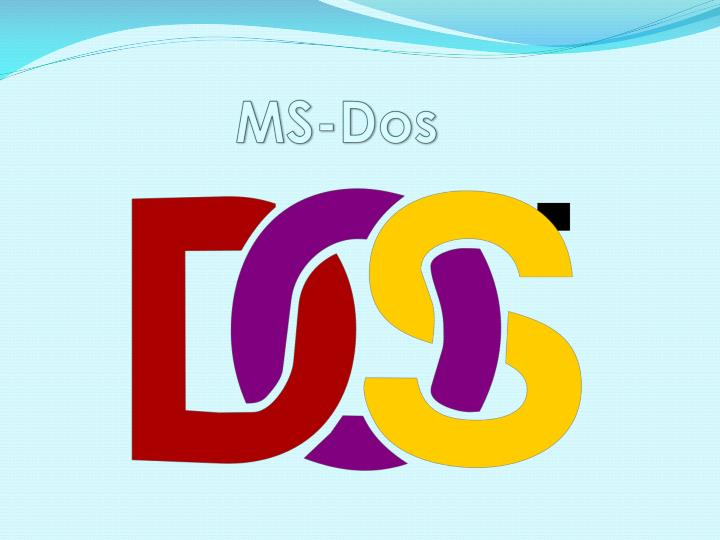 ms dos n.