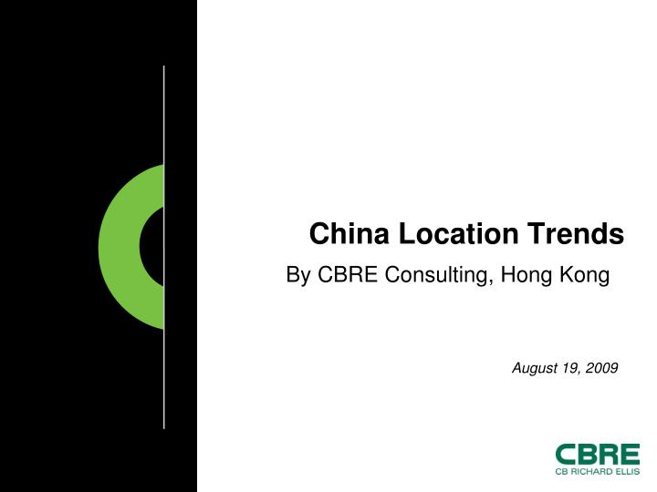 by cbre consulting hong kong n.