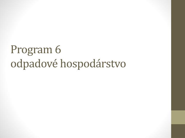Program 6