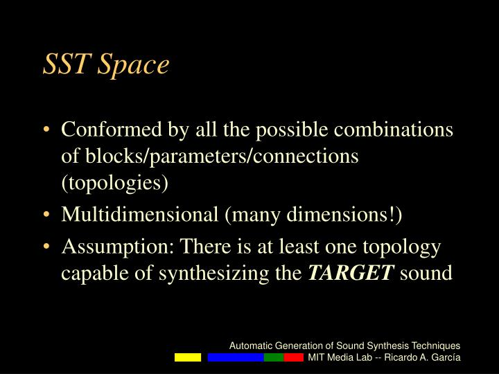 SST Space