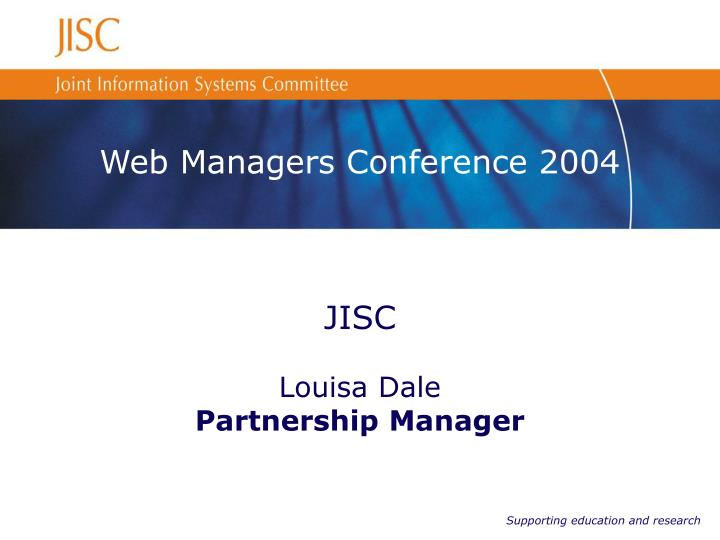 web managers conference 2004 n.