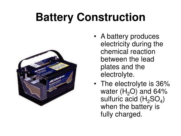 Battery Construction