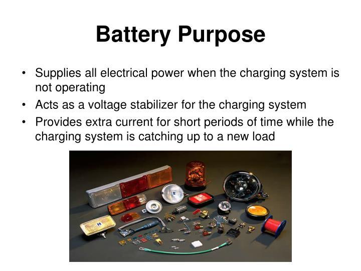 Battery Purpose