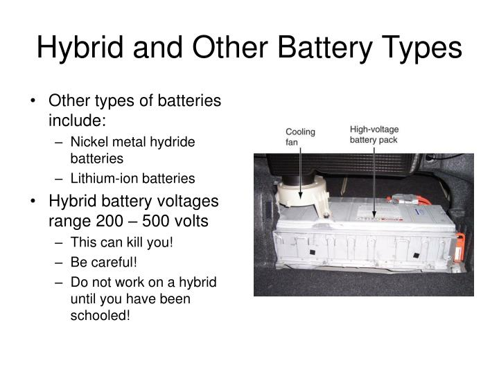 Hybrid and Other Battery Types
