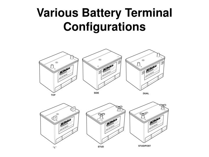 Various Battery Terminal Configurations