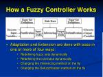 how a fuzzy controller works
