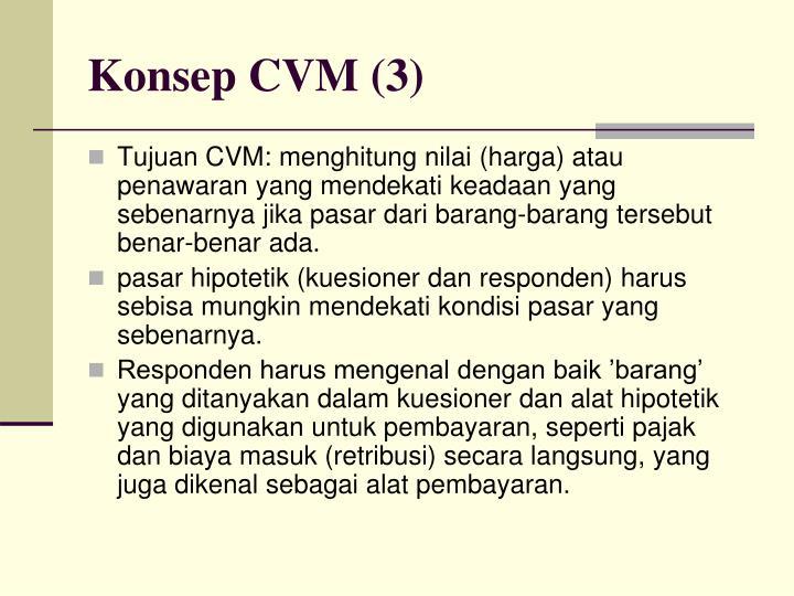 Konsep CVM (3)