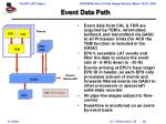 event data path