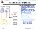 tower electronics daq module