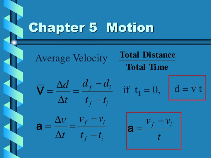 chapter 5 motion n.