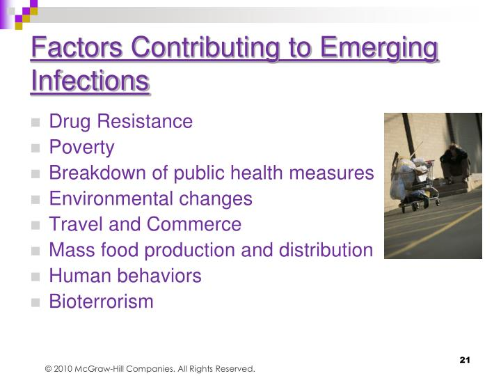 Factors Contributing to Emerging Infections
