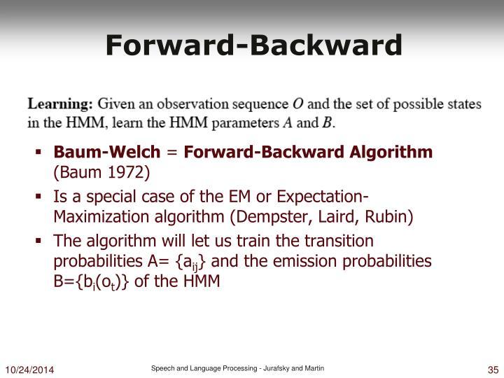 Forward-Backward