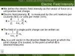 electric field intensity1