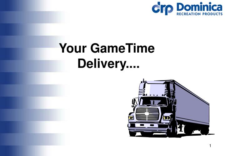your gametime delivery n.