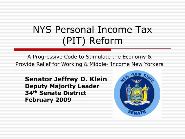 nys personal income tax pit reform n.