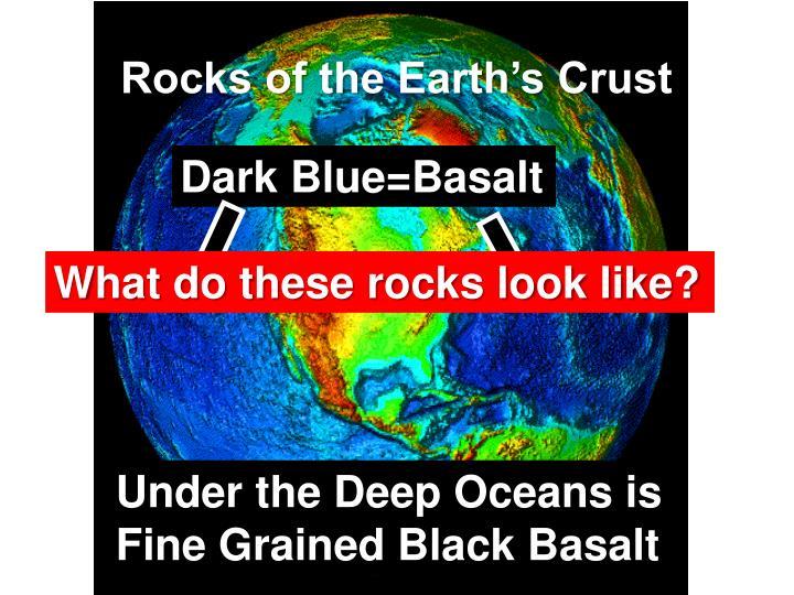 Rocks of the Earth's Crust