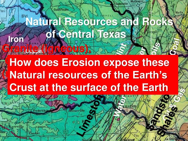Natural Resources and Rocks