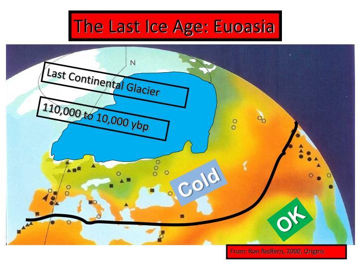 The Last Ice Age: Euoasia