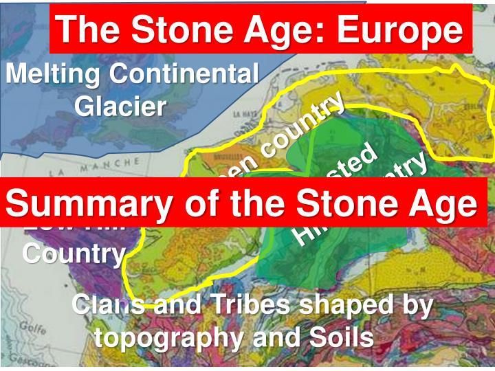 The Stone Age: Europe