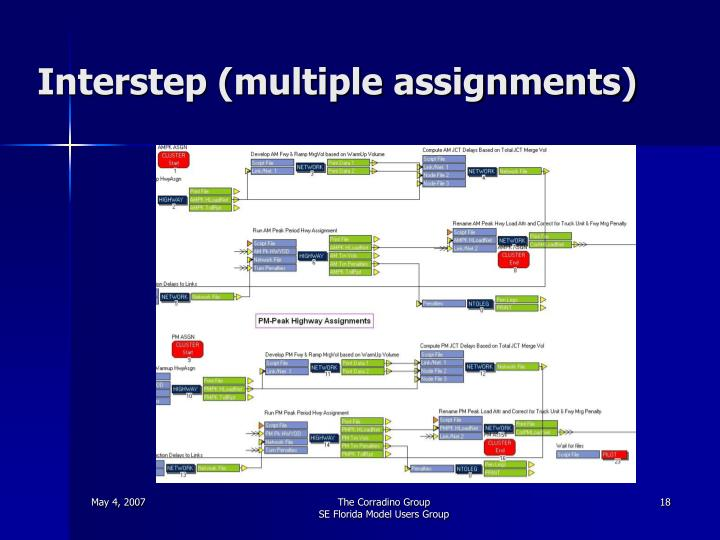 Interstep (multiple assignments)