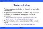 photoconductors