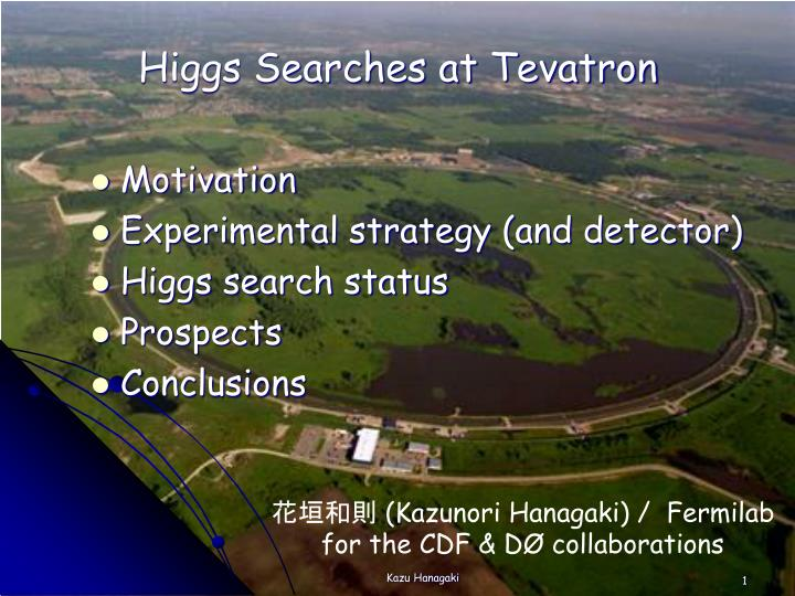 higgs searches at tevatron n.