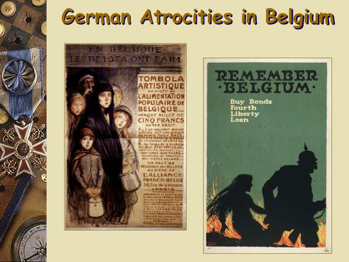 German Atrocities in Belgium