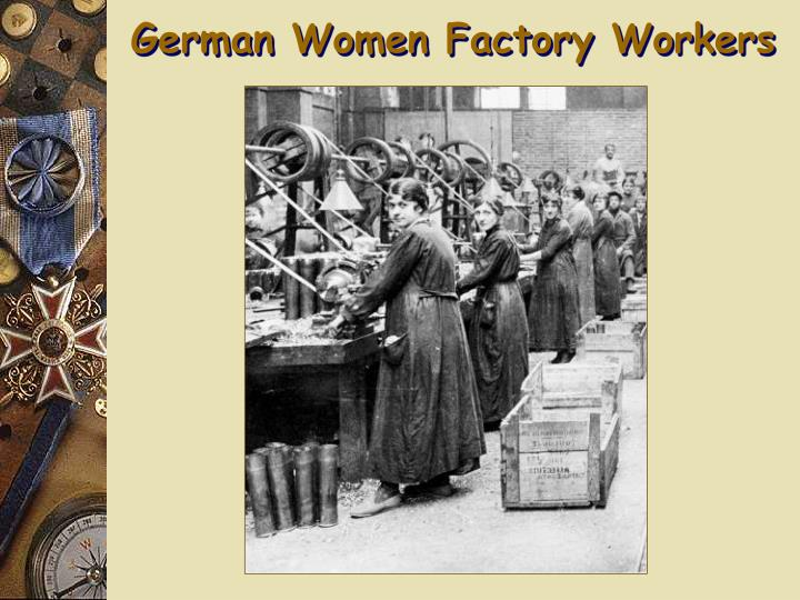 German Women Factory Workers