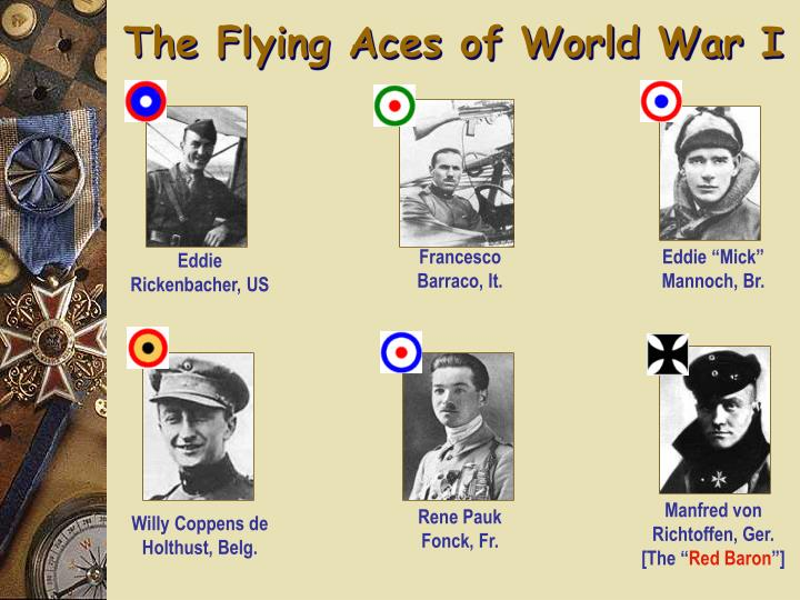 The Flying Aces of World War I