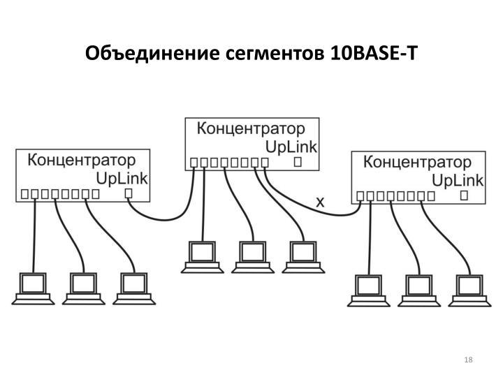 Объединение сегментов 10