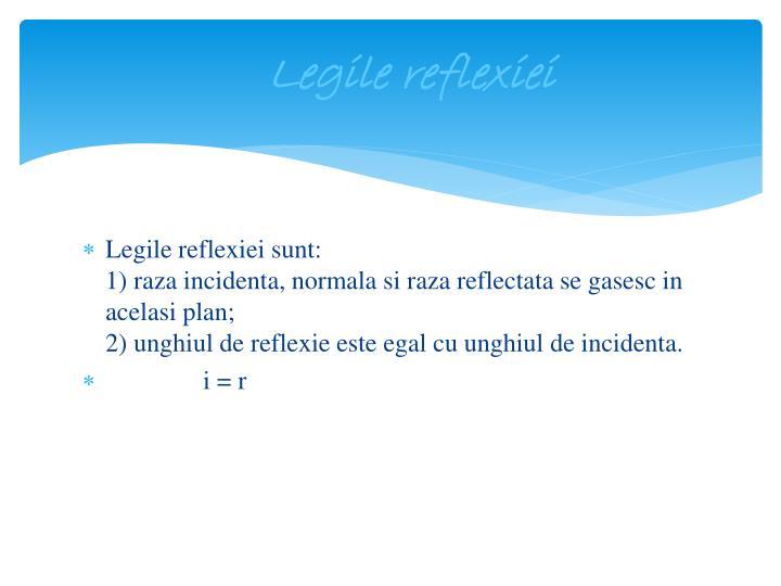Legile