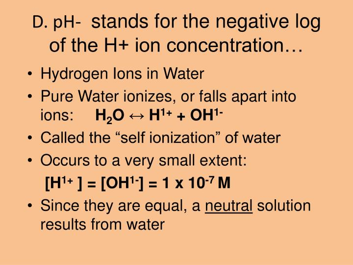 how to find h+ concentration from ph