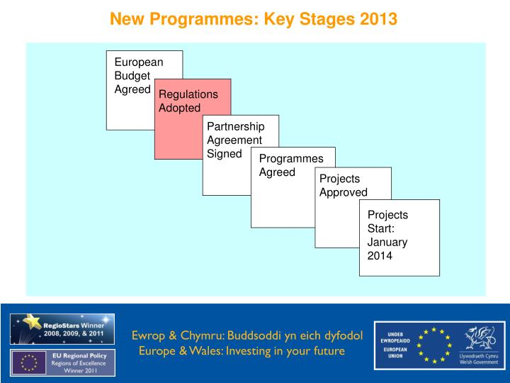 New Programmes: Key Stages 2013