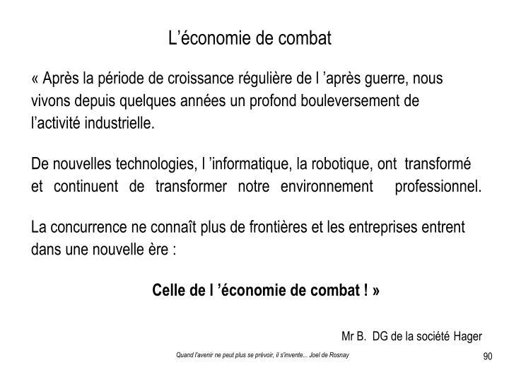 L'économie de combat