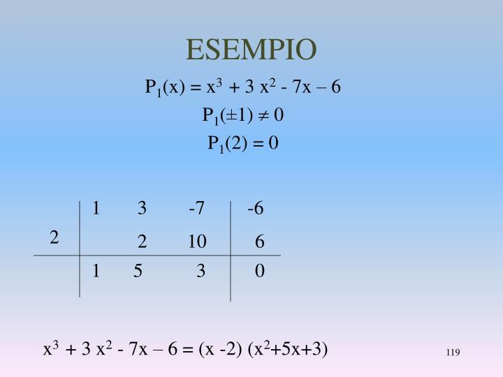 ESEMPIO