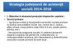 strategia jude ean de asisten social 2014 20185