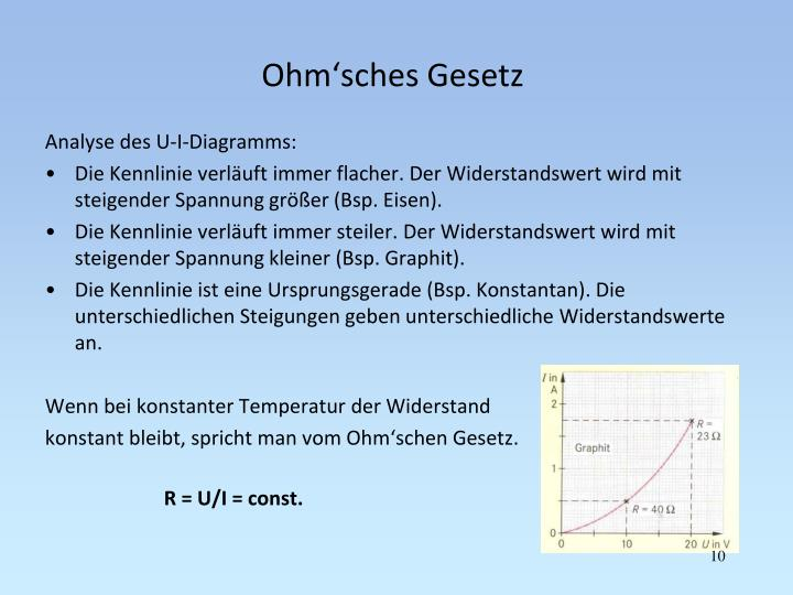 PPT - Widerstände PowerPoint Presentation - ID:5815675