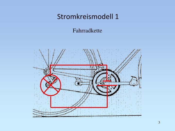Stromkreismodell 1