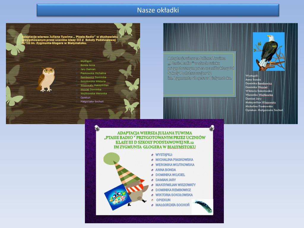 Ppt Ptasie Radio Powerpoint Presentation Free Download