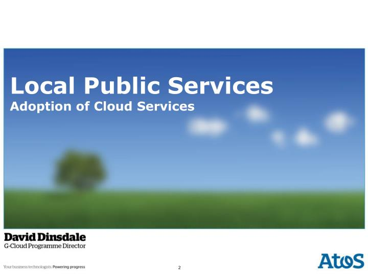 local public services adoption of cloud services n.